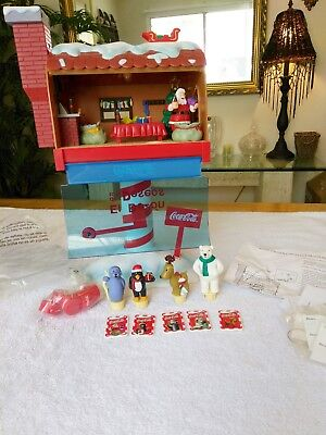 Coca Cola Christmas Animated Light-up Musical Mailbox Of Wishes 2002 Mexico