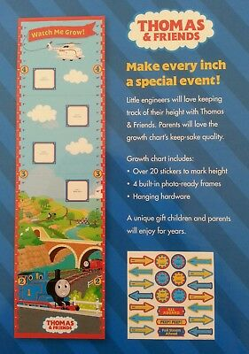 Thomas And Friends Watch Me Grow Growth Chart 1500 Picclick