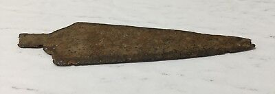 c1790s Hand Forged Iron Spear Point Hudson's Bay Company #2