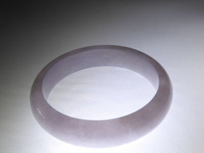 Exquisite Creamy/green/purple Genuine Jadeite Bracelet, Translucent Burma Jade!!