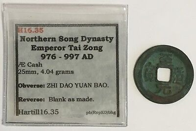 976-997 A.D. China Northern Song Dynasty Cash Coin Hartill 16.35 (L594)