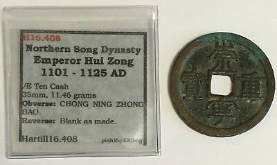 1101-1125 A.D. China Northern Song Dynasty 10 Cash Coin Hartill 16.408 (L597)