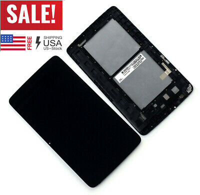For LG G Tablet 10.1 V700 LCD Display Touch Screen Digitizer Assembly Frame JQ