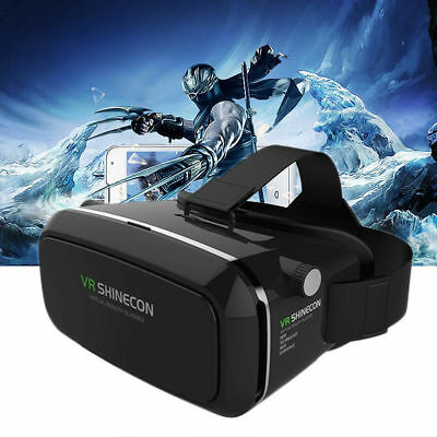 Pro Google Cardboard Virtual Reality VR 3D Glasses Box for iPhone Samsung US