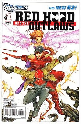 Red Hood and the Outlaws #1 NEW 52 DC Comics 2011 NM