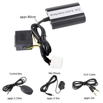 Handsfree Car Bluetooth Kits MP3 AUX Adapter Interface For Mazda 3 5 6 SPD RX8