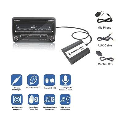 Handsfree Car Bluetooth Kits MP3 AUX Adapter Interface For Peugeot CITROEN RD4