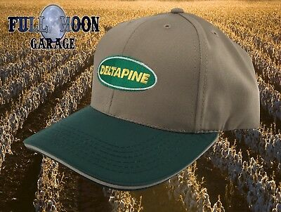 New Deltapine Seed Cotton Classic Vintage Farm Mens Snapback Cap Hat