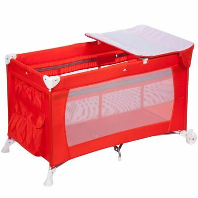 Safety 1st Travel Cot Full Dreams Red Child Baby Crib Bed Playpen 2191260000