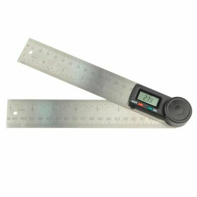 Brüder Mannesmann Digital Angle Ruler 200 mm Square Measuring Tool Gauge 81220
