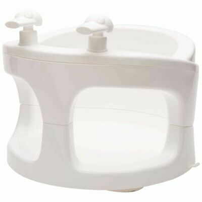 Bébé-Jou Bath Ring White Baby Activity Tub Bathing Support Seat Chair 417501