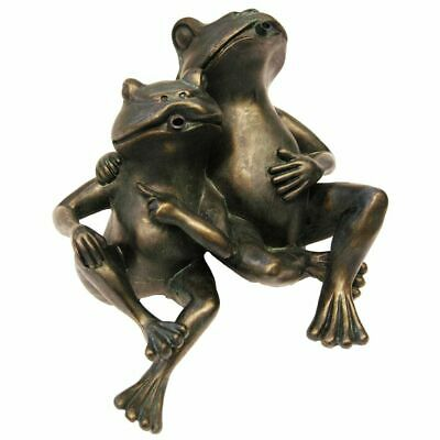 Ubbink Water Feature 2 Frogs 22 cm Waterfall Fountain Pond Ornament 1386074