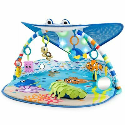 Disney Activity Gym Mr. Ray Ocean Lights Baby Play Mat Carpet Ocean K11095