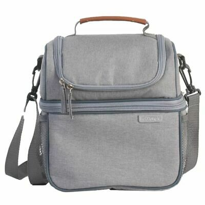 Bo Jungle B-Thermo Breast Pump Organiser Grey Storage Carrying Bag B300820