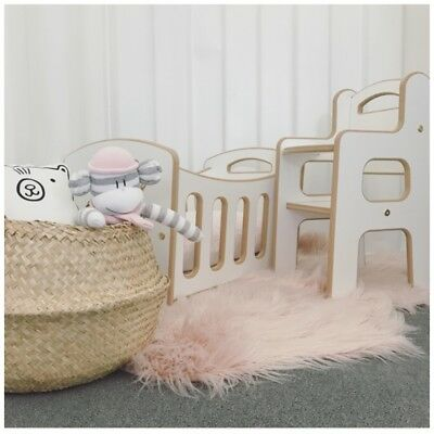 NEW Doll Cradle and High Chair Set - Quality Aus Made - Delivery available