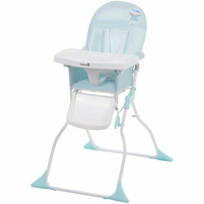 Safety 1st Folding High Chair Keeny Pop Hero Blue Kid Child Stool 2766261000