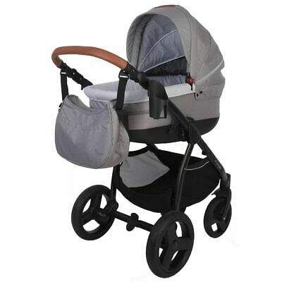 Bo Jungle B-Zen 4-in-1 Pushchair Pram Light Grey Stroller Buggy Baby B700505