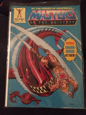 MASTERS OF THE UNIVERSE HE-MAN UK COMIC BOOK #53 London Editions 1988