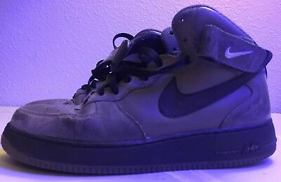 8a02d10038ad ... discount mens size 9 nike air force 1 af1 82 olive and black leather  sneakers 4af25