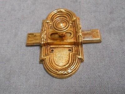 French VINTAGE Bronze Door Latch Lock Bolt LOUIS XVI style