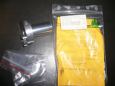 Tune Rohloff Ii Grip Shifter - Silver - New - Made In Germany