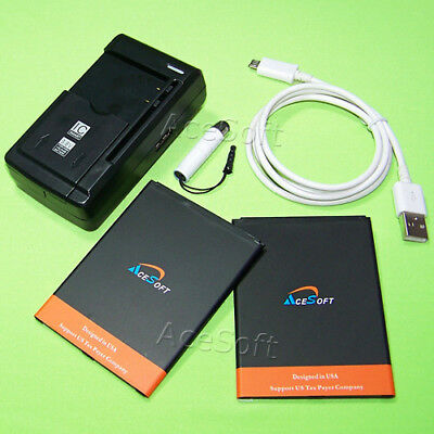 High Power 5280mAh Battery Charger Micro Cable for Samsung Galaxy Mega 6.3 M819N