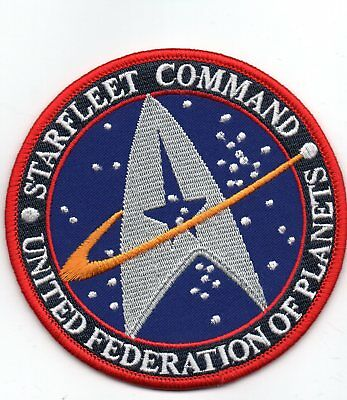 Parche Star Trek  Starfleet Command United Federation Of Planets Patch