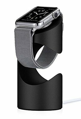Just Mobile Time article loading dock Apple Watch black aluminum