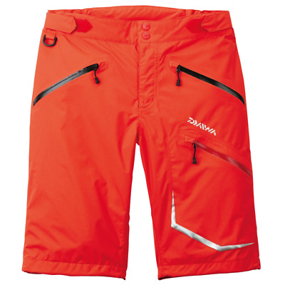 Sale DR-5007P Shorts Water Resistant Lightweight Red Size L 251266 Daiwa