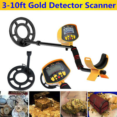 Pro Metal Detector Deep Sensitive Searching Gold Digger Treasure Target Hunter