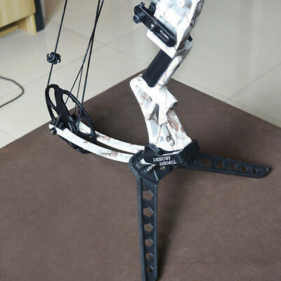 Hunting Compound Bow Kick Stand Target Lightweight Bow Stand Range Bows Holder
