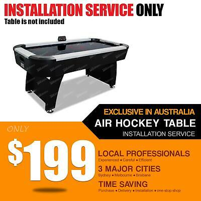 Air Hockey Table Installation Service AH12 AH08 Quick Professional Time Saving