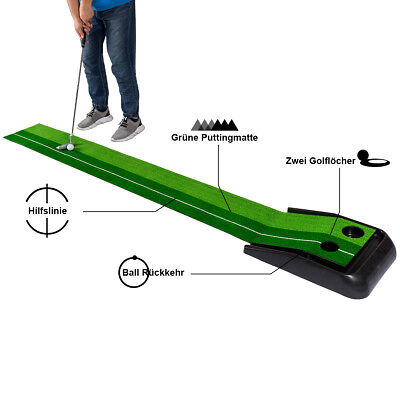Golf Puttingmatte Golf Putting Mat Track Puttingmatte Putting Trainer Matte