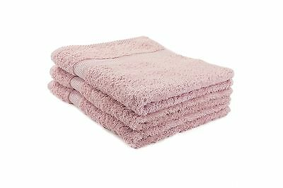 12 X Pink Luxury 100% Egyptian Cotton Hairdressing Towels / Salon / 50x85cm
