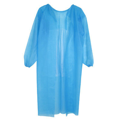 Disposable Medical Clean Blue Laboratory Tattoo Cover Gown Surgical Clothes