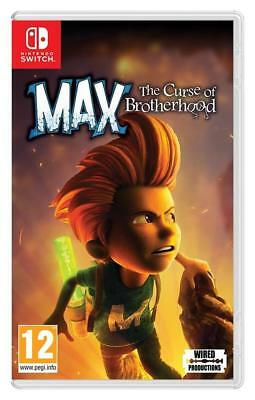 Max The Curse of Brotherhood SWITCH Neuf sous Blister