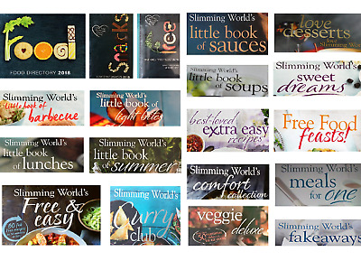 2018 Slimming World Recipe Books
