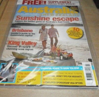 Australia & New Zealand magazine #157 JUL 2018 Brisbane, King Valley, Must-Dos &