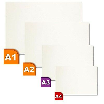 A4 A3 A2 A1 Foam Board 5mm White Mount Sings Wedding Photo Craft Boards 10 pack