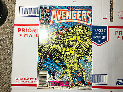 The Avengers #257 (Jul 1985, Marvel) FIRST APPEARANCE of Nebula! NEWSSTAND ED