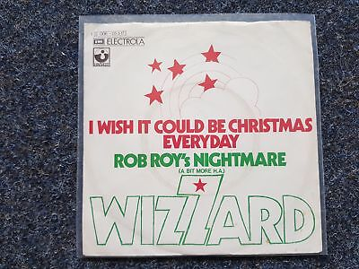 Wizzard - I wish it could be Christmas everyday 7'' Single GERMANY