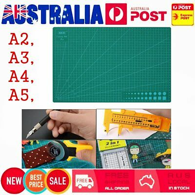 A2 A3 A4 PVC Self Healing Cutting Mat Craft Quilting Grid Lines Printed Board WA