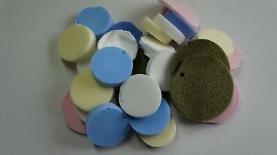 Bundle of Ramer PVA Sponges rejects and offcuts for artist craft pottery