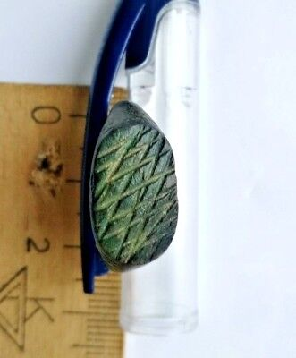 Ancient Antique Authentic Roman Empire Legionary Intact Wearable Bronze Ring #3