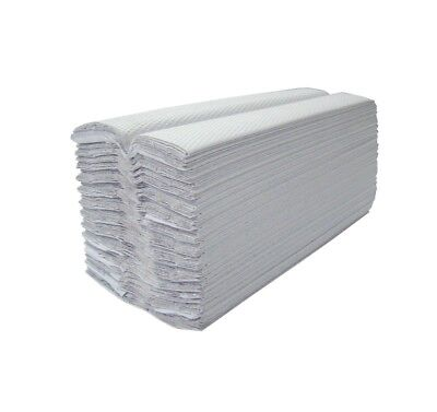 System Hygiene White 1ply C Fold Paper Hand Towels - 3744 per Case