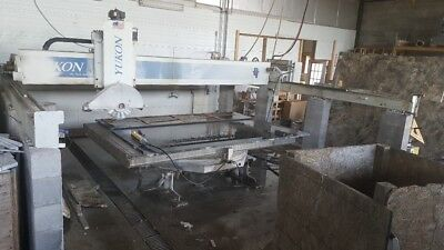 2002 Park Industries Yukon, Wizard And Water System Granite Stone Saw