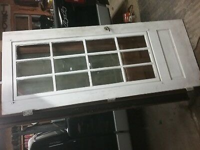 "Antique French Door with Original Hardware 32 1/2"" x 78 3/4"""