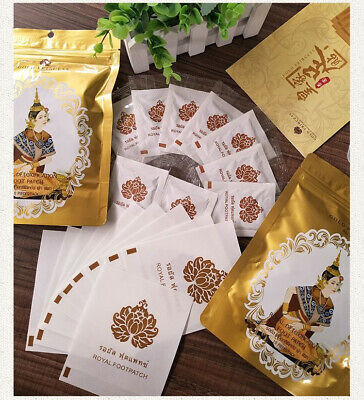 Gold Princess Royal Detoxification Foot Patch Foot Care Relaxation 10Pcs/pack