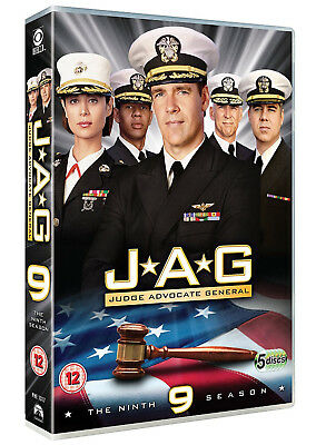 JAG COMPLETE SEASON 9 DVD Nineth 9th Ninth Series Nine UK Release Brand New R2