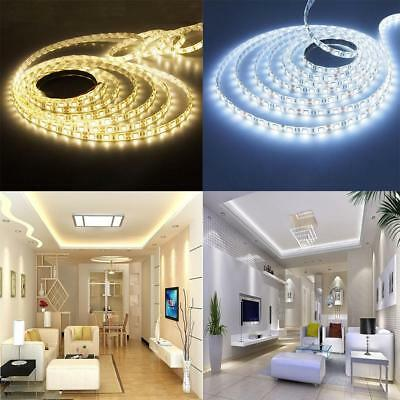 5/10/20M 5050 3528 SMD LED Strip Streifen Band Leiste Lichterkette Warmweiß RGB